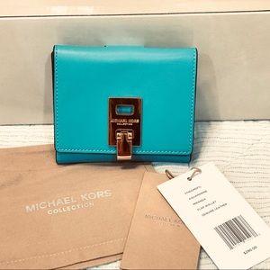 Michael Kors Collection Miranda Flap Wallet